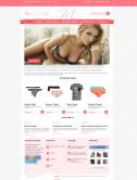 Адаптивный интернет-магазин нижнего белья